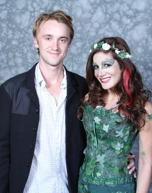 "I met Tom Felton at New York Comic Con 2012. He told me my costume was ""marvelous"" and said I should go into costume making... meeting him was one of the best days of my life haha =]"