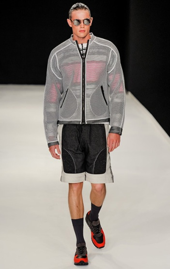 Photo: Yannis Vlamos / InDigital | GoRunway - James Long. See this look here at style.com
