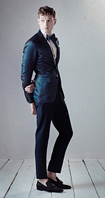 Photo: Courtesy of Berluti. See this look here at style.com