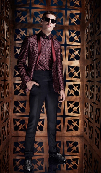 Photo: Courtesy of Roberto Cavalli. See this look here at style.com