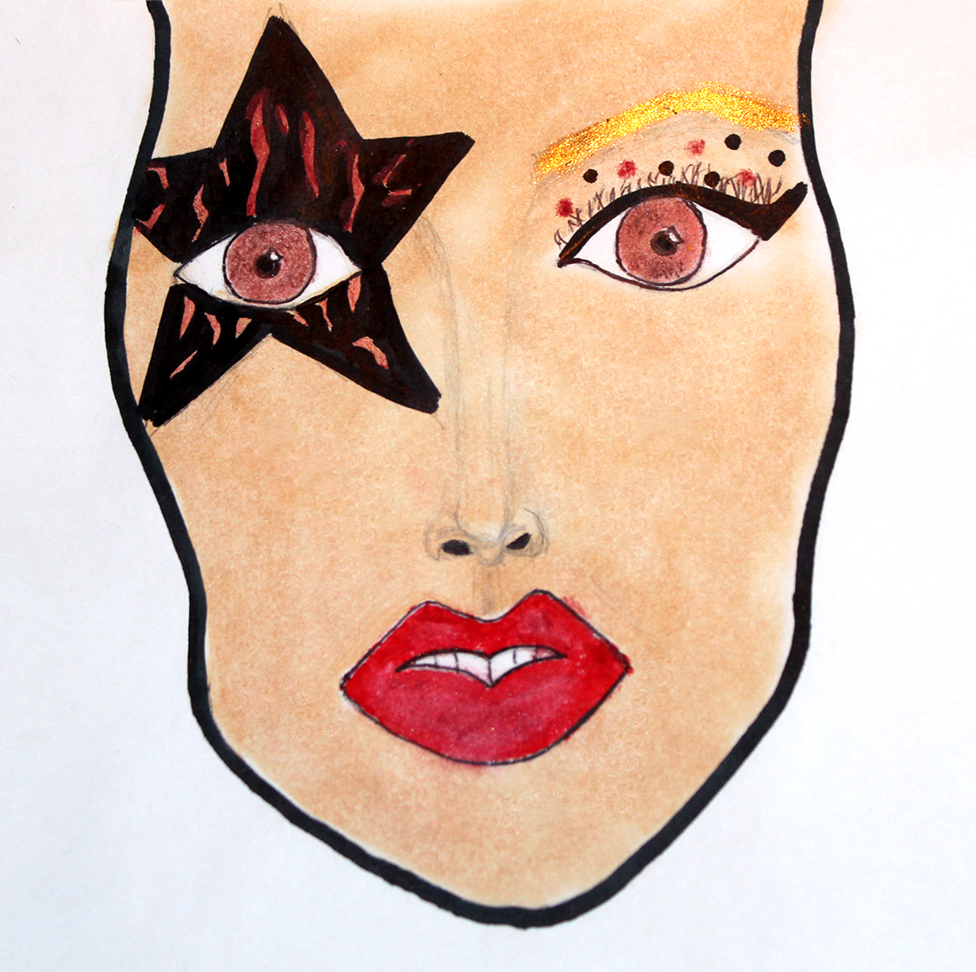 Rock Star Makeup Inspired By Face Off