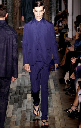 Photo: Marcus Tondo / InDigital | GoRunway - Valentino. See this look here at style.com