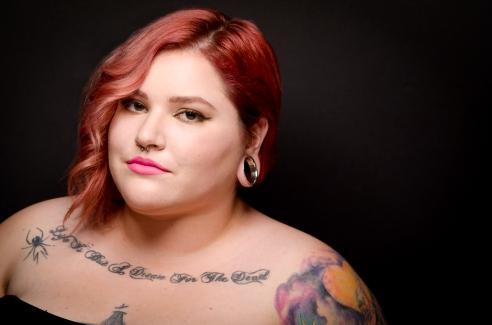 Makeup and Hair: Emily Facatselis Photographer: Sekou Luke Model: Jade Stone